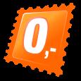 Broj 0 (srebrna boja)